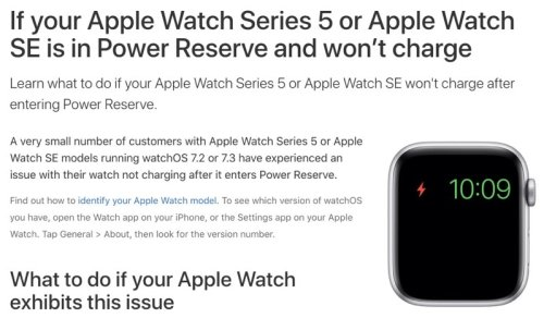 Apple Watch Series 5, SE Not Charging Fix Released; Free Repairs Also Available