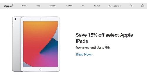 Apple's iPad on Sale for 15% Off via RBC Rewards