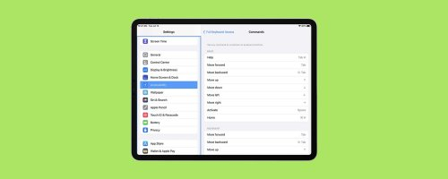How to Use iPad Keyboard Shortcuts to Navigate Apps
