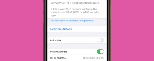 How to Stop Auto-Joining Wi-Fi on the iPhone