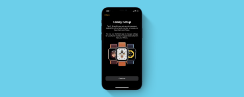 How to Set Up a Family Member's Apple Watch with Family Setup