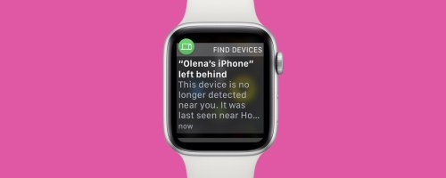 NEW: Never Forget Your Phone Again with Apple Watch Alerts