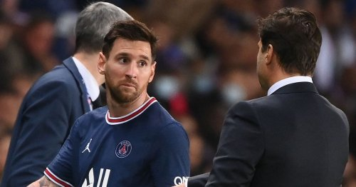 The PSG dressing room remains behind Pochettino after Lionel Messi sub