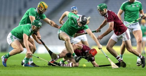 What time and TV channel is Galway v Limerick on today?