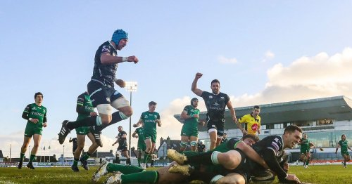 What TV channel and time is Connacht v Ospreys on today?