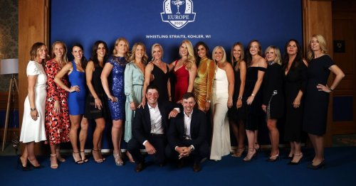 Wives & girlfriends of Ireland's Ryder Cup golfing stars are all set for wend