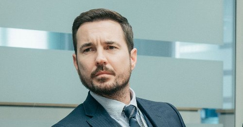 Martin Compston says he can't wear waistcoats as they give him Cockney accent