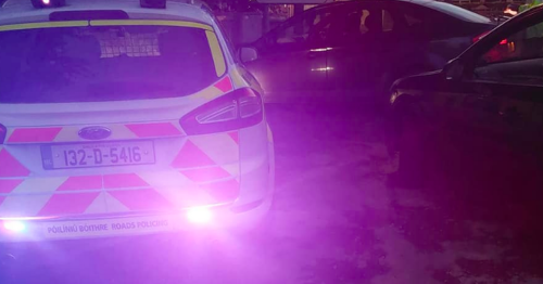 Garda catch drug driver with no driving licence or insurance