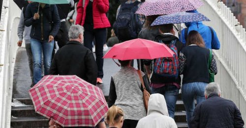 Met Éireann forecasts rainy conditions this week with gale force winds for some