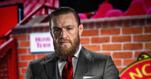 Conor McGregor continues to claim he is interested in buying Man United
