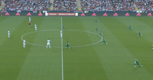 Watch as Ireland players booed by Hungarian fans for taking the knee
