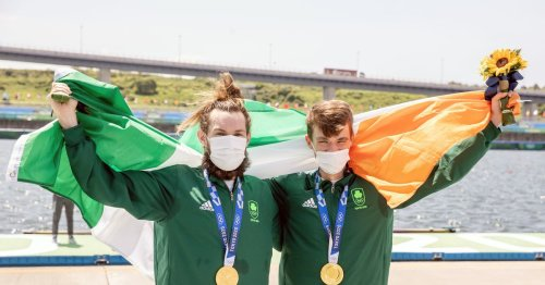 'You're dreaming of winning gold' - Paul O'Donovan fulfils his childhood dream