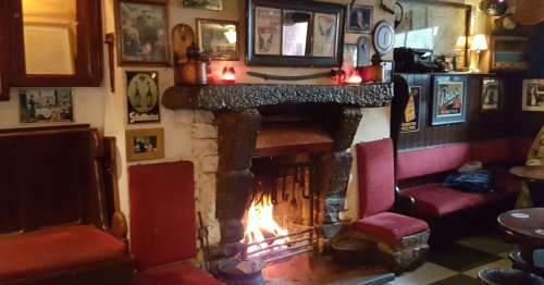 Ireland's oldest pub operating since 900 AD - and still has original features