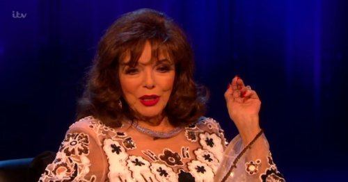 Joan Collins thought Martin Compston wanted to kill her after NTAs
