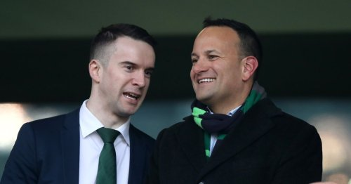 Tubridy launches Leo Varadkar defence after crowds gather outside home