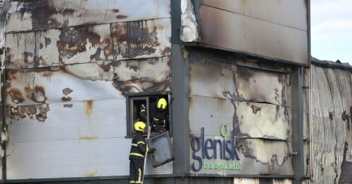 Pictures show aftermath of 'devastating' factory fire