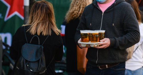 Thousands of pubs will be banned from selling booze outdoors under current rules