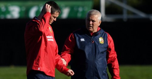 Gatland points to statistics to justify Sexton's Lions omission