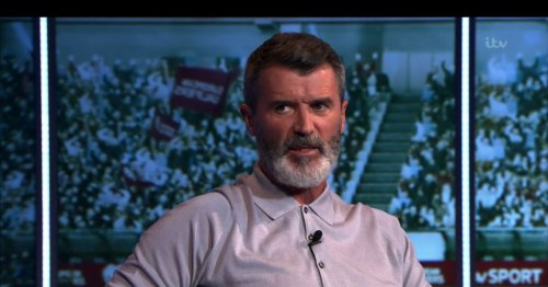 Everyone says same thing about Roy Keane during Liverpool's Man United hammering