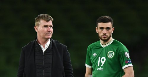 What Stephen Kenny has said on Troy Parrott as star pictured with Kinahan member
