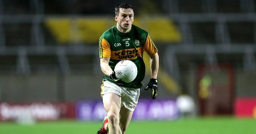 Training resumption brought some belated festive cheer for Kerry's Paul Murphy