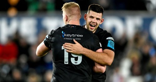 Munster's perfect start comes to a halt in Wales