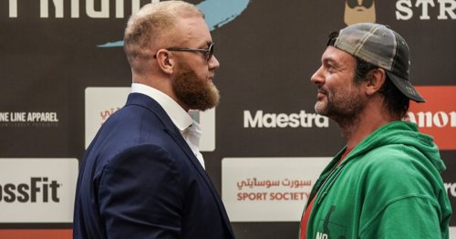 Thor Bjornsson vs Devon Larratt fight live results, undercard and live stream