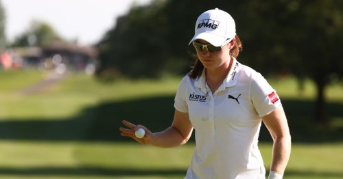 Leona Maguire cards brilliant 64 to lead Meijer Classic into the weekend