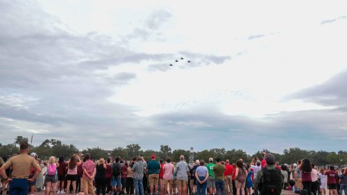 4 fighter jets zoomed over Parris Island Friday. Meet the Marine they honored