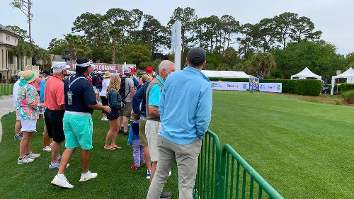 'Smile with my eyes': Masked security, volunteers weigh in on RBC Heritage during COVID