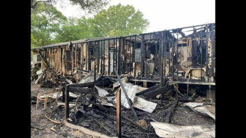 She had moments to get out of her burning home near Bluffton. What she chose to save