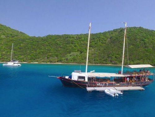 The Willy-T Finds a New Home in the British Virgin Islands