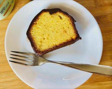 French Éclair Pound Cake