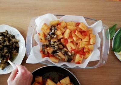 Paccheri, pasta Mediterranean style
