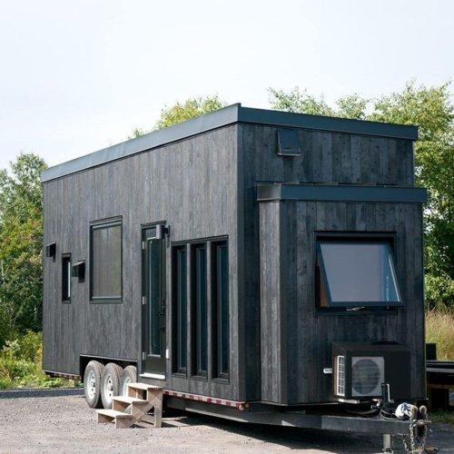 30′ Orme Tiny Home is a Sleek Minimalist Home for Modern Families