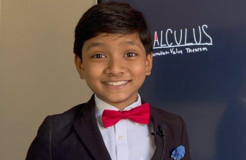 Da Vinci Institute Awards Laureate to Incredible 9-Year-Old Professor