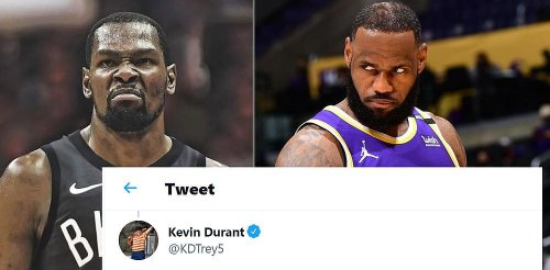 Kevin Durant's Blunt Response To Being Scared Of Lakers