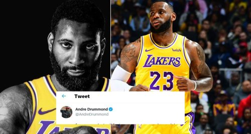 Andre Drummond Signals Lakers Exit With IG Post (Photos)