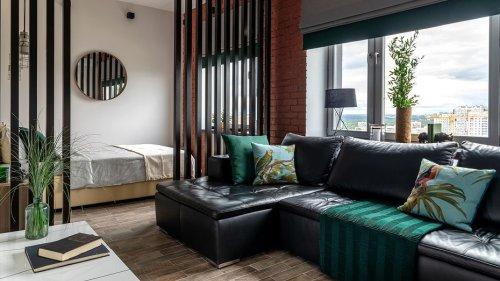 12 топовых приемов дизайнеров по оформлению гостиной-спальни (когда приходится совмещать)