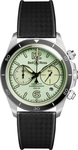 Bell & Ross Brightens a Vintage Chronograph – International Watch Magazine