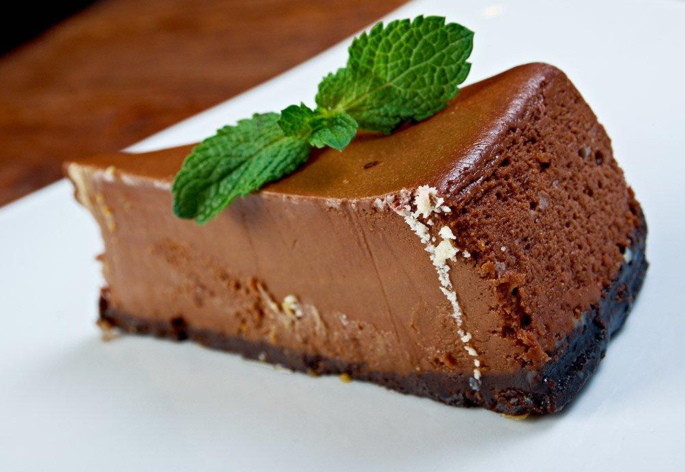 Dark Chocolate and Liqueur Mousse Cake Recipe