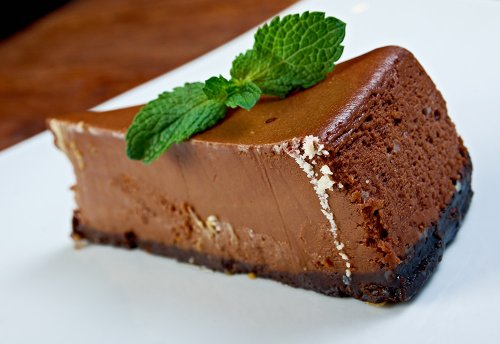 Dark Chocolate and Liqueur Mousse Cake Recipe