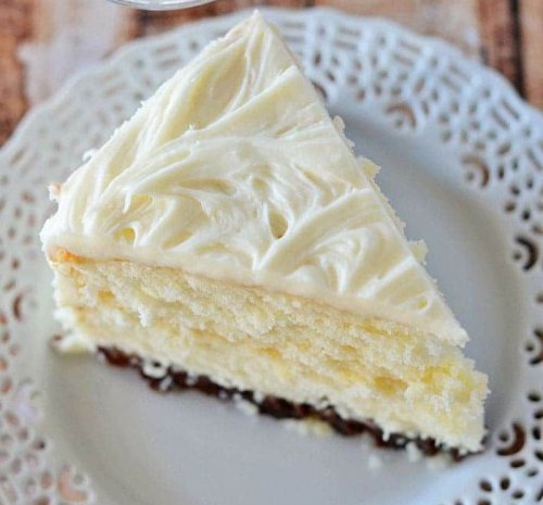 Vintage Grandma's Cream Cake
