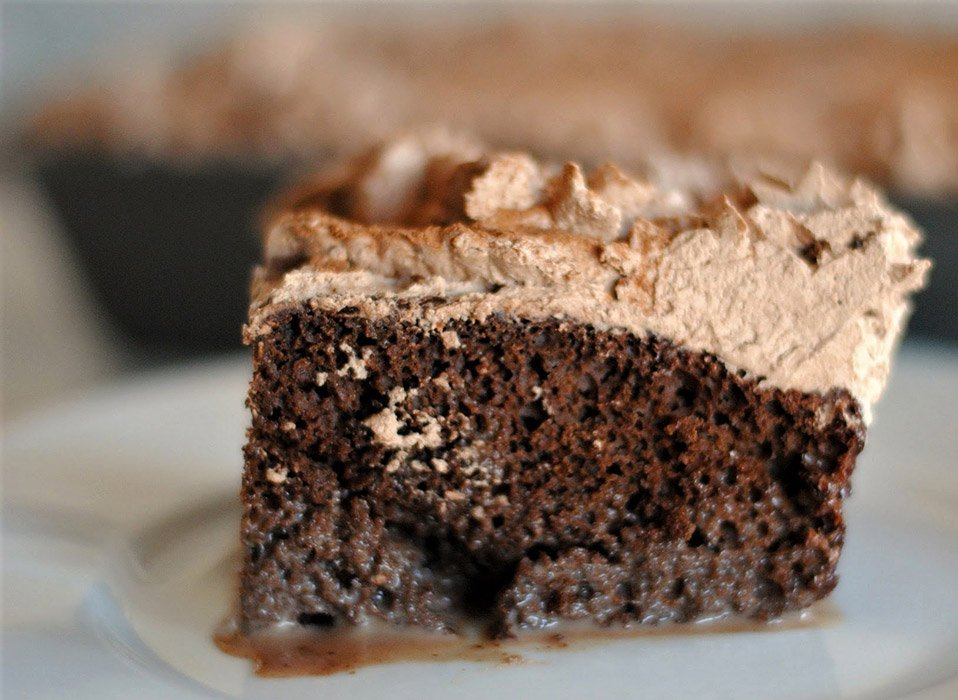 Bailey's Chocolate Tres Leches Cake