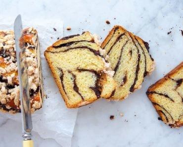 Babka Chocolate-Raspberry Loaf