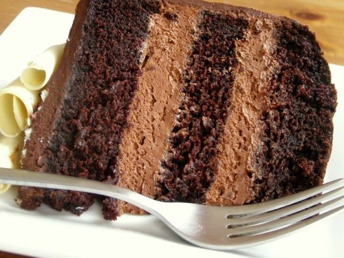 Extra Moist Chocolate Cake with Frosting Recipe