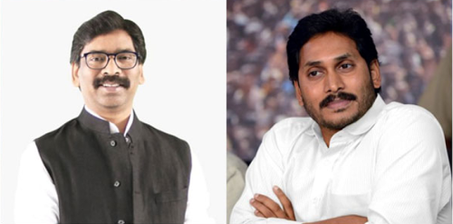 """""""Fear of Modi because of CBI cases"""": Twitterati sense motive behind Jagan Mohan Reddy's tweet to Hemant Soren urging to 'strengthen the hands of our Prime Minister'"""