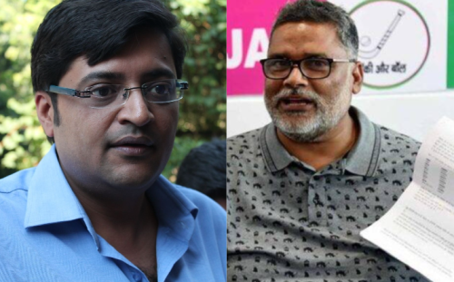 """""""Don't act like spokesperson of political party"""": Arnab Goswami left stunned after politician from Bihar demanded trial of Election Commission under sedition law"""