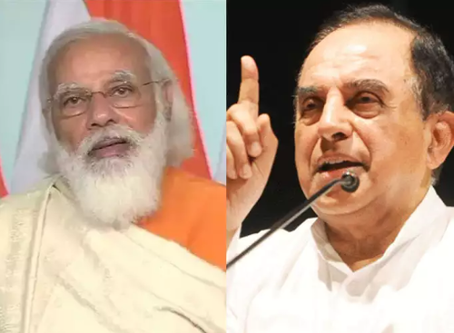 """""""Andhbhakts and Gandhbahkts"""": Subramanian Swamy takes brutal potshots at supporters of PM Modi for surge in COVID-19 cases"""