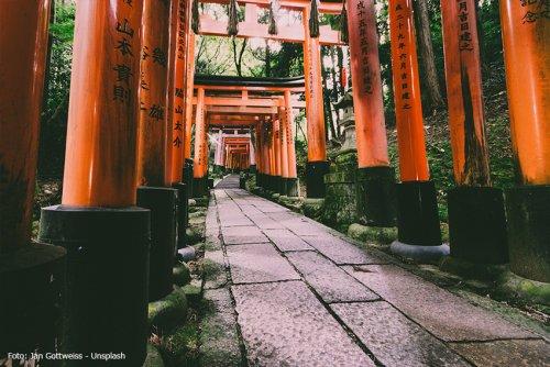 Pilgern in Japan - von Shikoku bis Kyoto